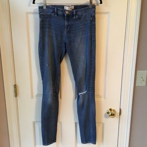 Dittos Distressed Legging Skinny Jeans - Size 27